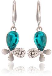 Neoglory Georgia Peacock Blue Jewellery Set Christmas Gift Tv09_Earrings