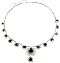 Neoglory Princess Droplet Crystal Droplet Party Wear Necklace
