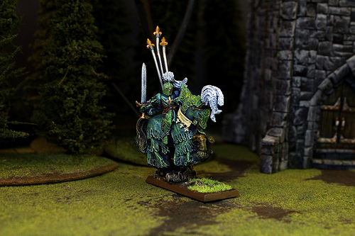 Bretonnian Miniatures for the Warhammer Fantasy War Game