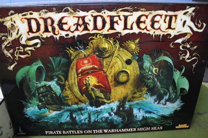 Dreadfleet Miniature War Game from the world of Warhammer Fantasy