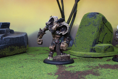 Hoard Miniatures from the mini wargaming company Privateer Press