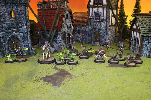 Malifaux Miniatures from Wyrd Studios