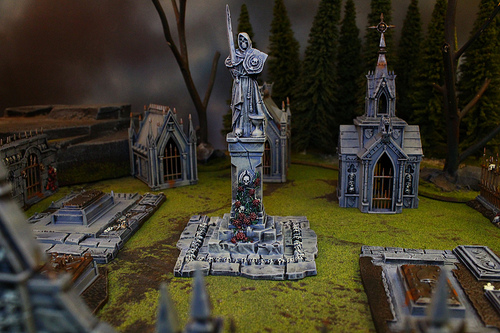 Warhammer Fantasy Scenery used to play in your custom War Games
