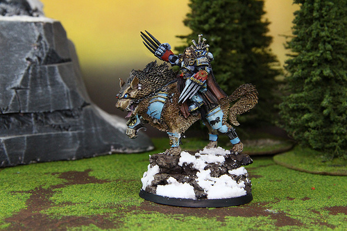 Space Wolves Miniatures for the Warhammer 40k War Game
