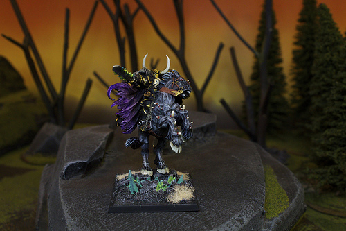 Warriors of Chaos Miniature for the Warhammer Fantasy War Game