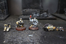 Imperial Guard Extras Lot 6151 Blue Table Painting Store