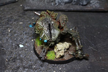 Imperial Guard Wrecked Sentinel Marker Lot 6404 Blue Table Painting Store