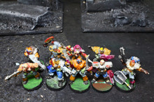 Warzone Figures Lot 6580 Blue Table Painting Store