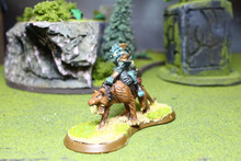 Heroscape Orc Cavalry Lot 4173 Blue Table Painting Store