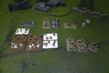 FoW Various Models Lot 2536 Blue Table Painting Store