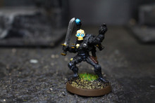 Grey Knight Eversor Assassin Lot 7734 Blue Table Painting Store