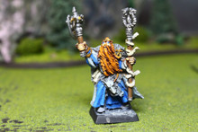 Empire Wizard Lot 7785 Blue Table Painting Store