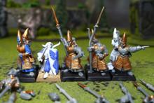 High Elf Spearmen Lot 7896 Blue Table Painting Store