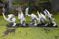 Orcs and Goblins Arrer Boys Lot 8046 Blue Table Painting Store