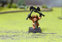 Dwarf Dragon Slayer Lot 8911 Blue Table Painting Store