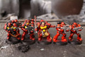 Space Marine Tactical Marines Lot 9303 Blue Table Painting Store