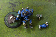 Cygnar Ironclad Lot 9699 Blue Table Painting Store