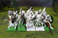 Vampire Counts Skeletons Lot 9747 Blue Table Painting Store