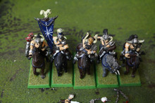 Warriors of Chaos Marauder Horsemen Lot 10389 Blue Table Painting Store