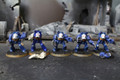Space Marine Terminators Lot 11145 Blue Table Painting Store