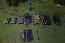 German Tanks Lot 11654 Blue Table Painting Store