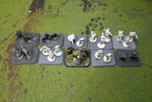 Command Teams Lot 11667 Blue Table Painting Store
