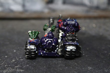 Space Marine Attack Bike Lot 11716 Blue Table Painting Store