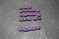 Space Marine Shoulder Pads Lot 11918 Blue Table Painting Store
