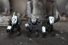 Tau Stealth Suits Lot 11962 Blue Table Painting Store