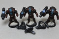 Tau Stealth Suits x3 13603 alternates (AT-43 tac-arms)