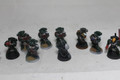 Lot 14198 Dark Angels Space Marines ten man Squad