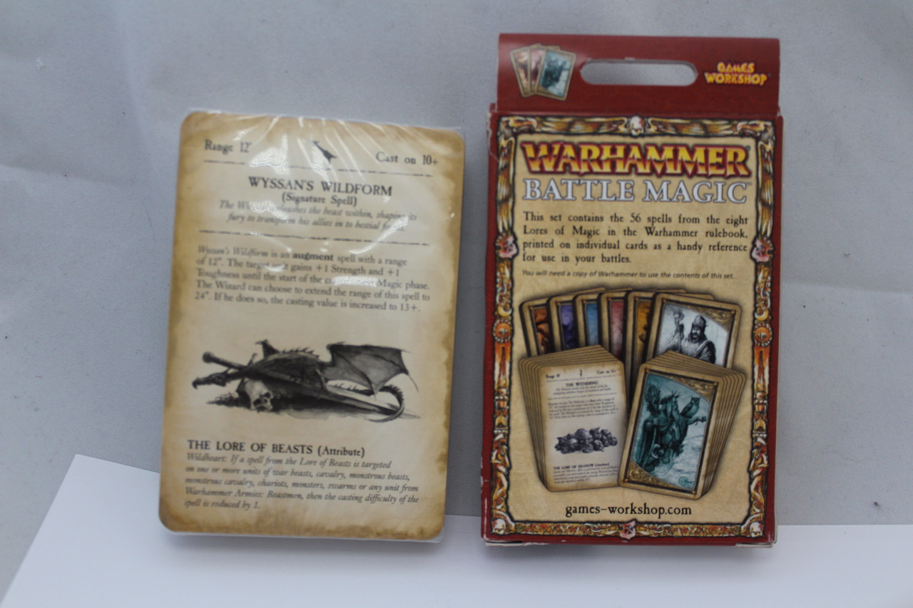 The 9th Age Spell Cards