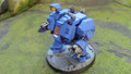 Space Marines Dreadnought assault cannon painted Lot 15264