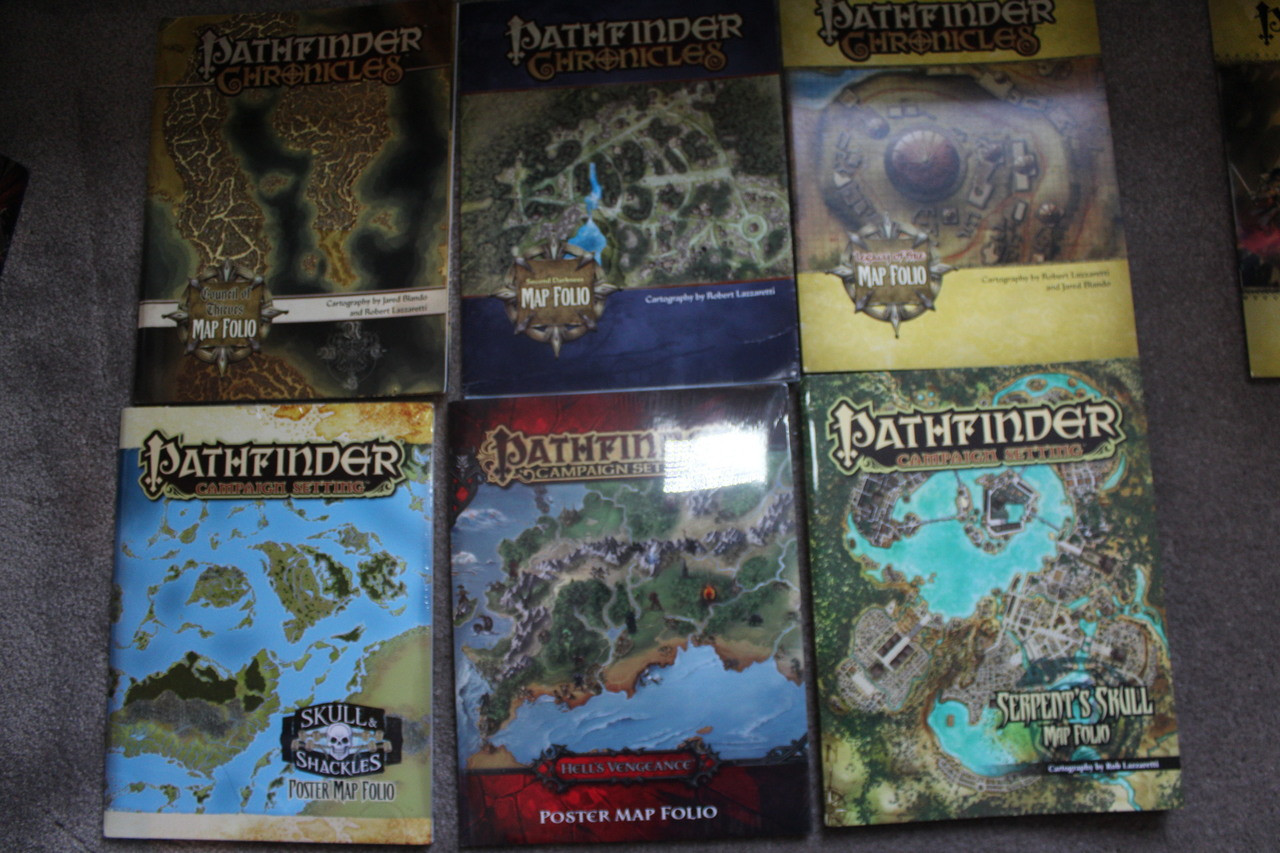 Complete Set of Pathfinder Adventure Path books x129 Lot