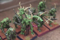 Plaguebearers of Nurgle x10 painted Lot 15564
