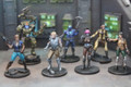 Scifi Characters x7 painted FRP021