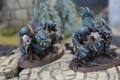 River Trolls x2 painted Lot FRP024
