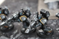 Legion of the Damned Devastators space marines painted x9 Lot 15603