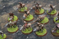 Lord of the Rings Orcs and Goblins x54 painted Lot FRP053
