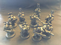 Dark Angels Space Marines x9 Lot 15664