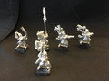 5x metal elves Lot 15714