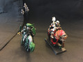 2 mounted knights Lot 15727