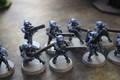 Tau Fire Warriors x10 painted Lot 15823