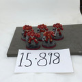 Blood Angels Terminator Squad x5 painted Lot 15898