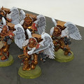 Blood Angels Sanguinary Guard x5 painted Lot 15899