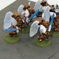 Blood Angels Sanguinary Guard x5 painted Lot 15900