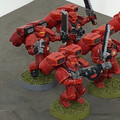 Blood Angles Assault Squad x5 painted Lot 15901