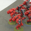 Blood Angels Assault Squad x6 painted Lot 15904