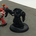 Blood Angels Captain in Terminator Armor And Apothecary x2 Lot 15908