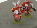 Blood Angels Captains x2 painted Lot 15909